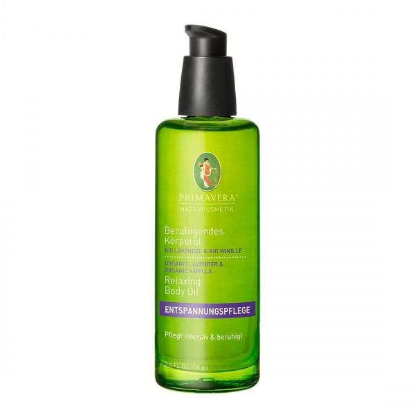 Beruhigendes Körperöl Lavendel Vanille*bio